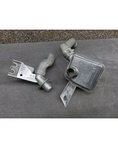 Original Audi S6 4F A8 4E Sekundärpumpe Luftfilter Sekundärluftpumpe 07L131837 R