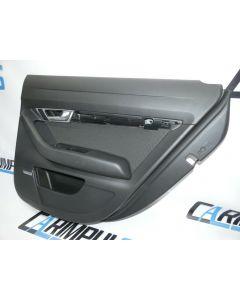 Audi A6 4F Türverkleidung SPEED Stoff BOSE hinten rechts Türpappe 4F0867306D 06