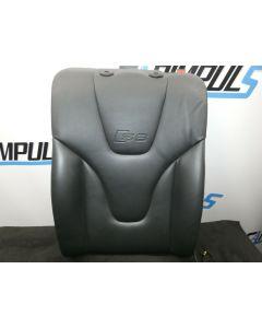 Orig Audi S6 4F Rückenlehne Leder links Sitzheizung SHZ Rücksitzbank schwarz A6