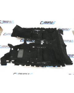 Orig VW Scirocco 3 Teppich schwarz Bodenbelag Innenraum 1K8863367A Verkleidung