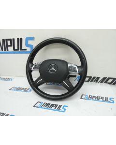 Orig Mercedes C Klasse W204 MOPF Multifunktionslenkrad Lederlenkrad A2464601503